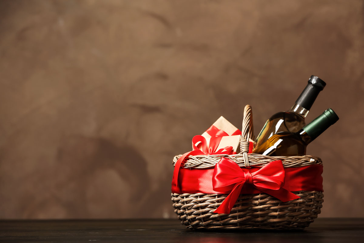 kosz prezentowy
